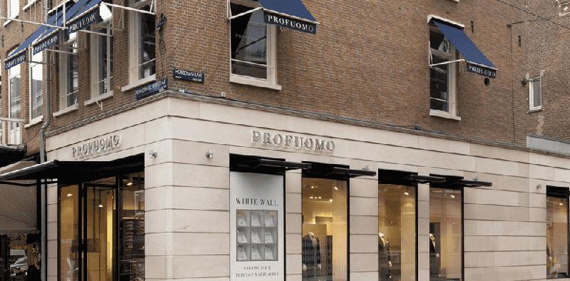 Lojas na Avenida Zuid em Amsterdã