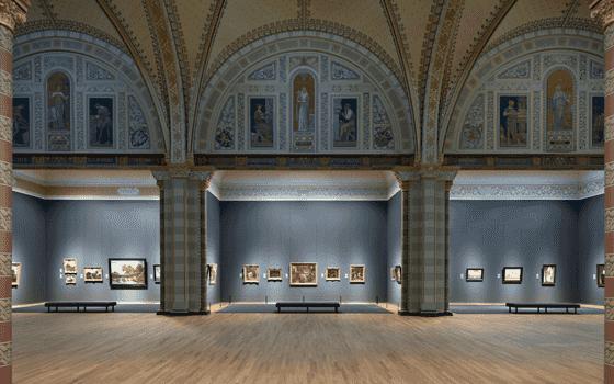Interior do Museu Rijksmuseum em Amsterdã