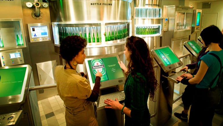 O que conhecer no Heineken Experience em Amsterdã