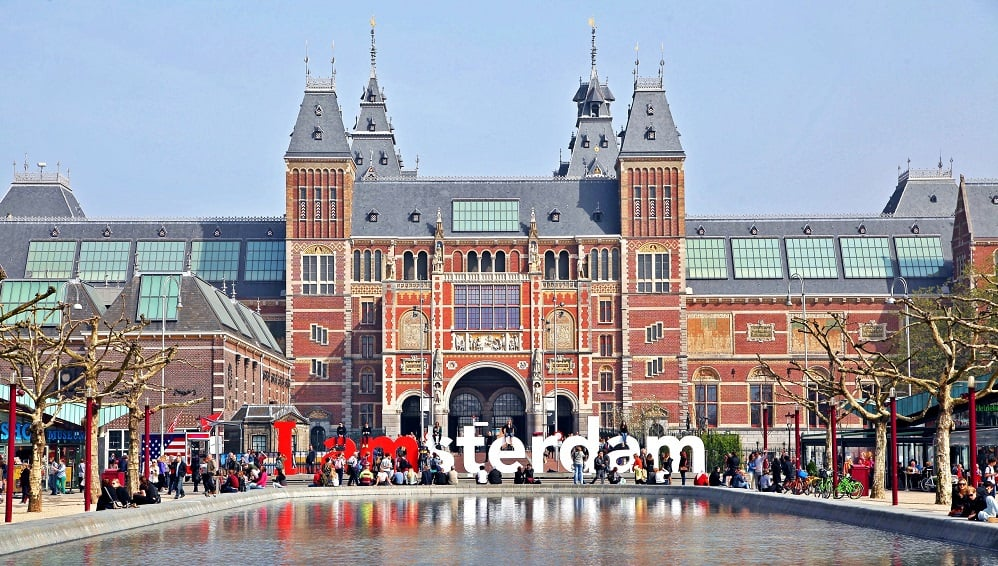 Museu Rijksmuseum em Amsterdã