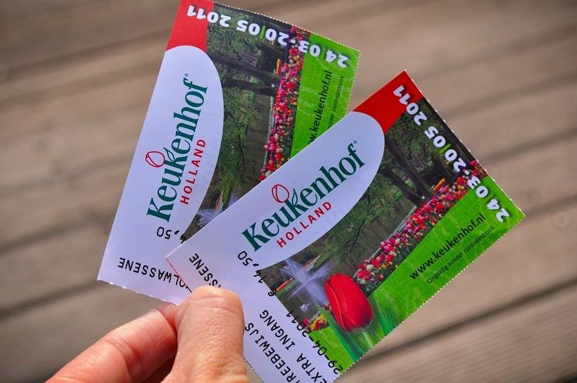 Tickets para o Jardim Keukenhof em Amsterdã