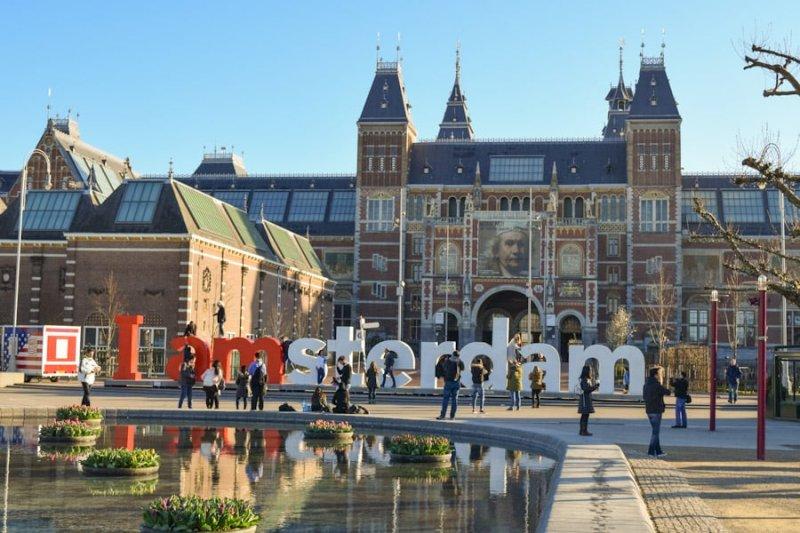Letreiro I Amsterdam