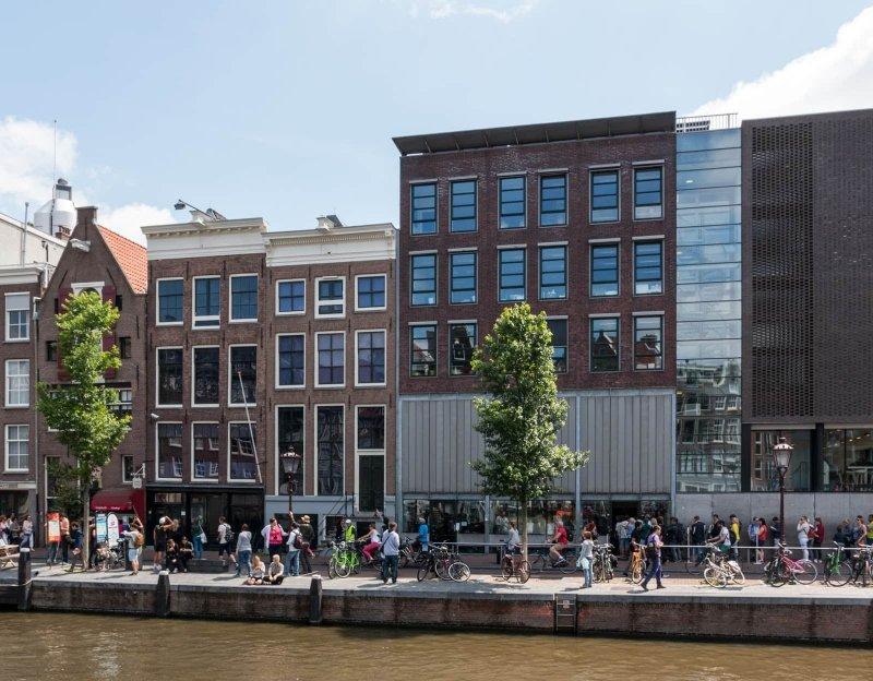 Casa e Museu de Anne Frank em Amsterdã