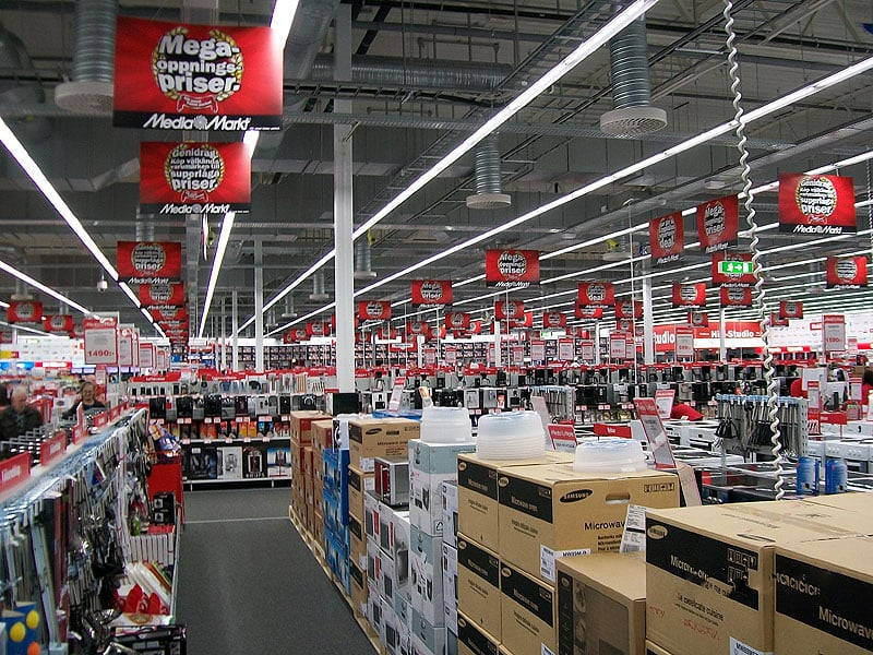 Media Mrkt para as compras de eletrônicos em Amsterdã