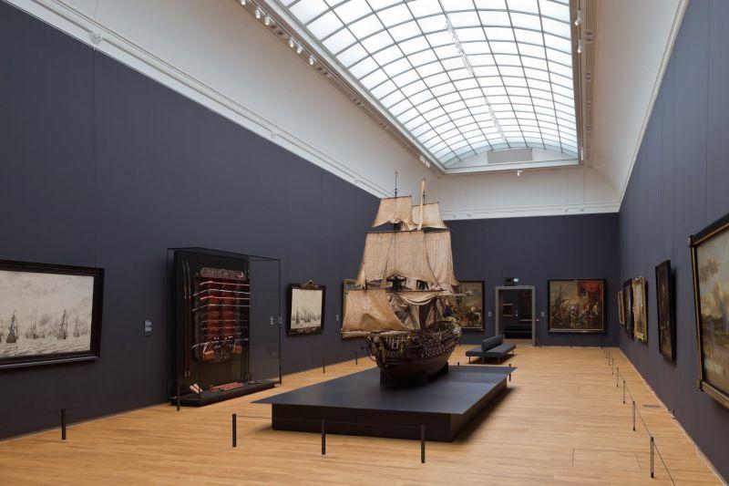Rijksmuseum para deficientes físicos em Amsterdã
