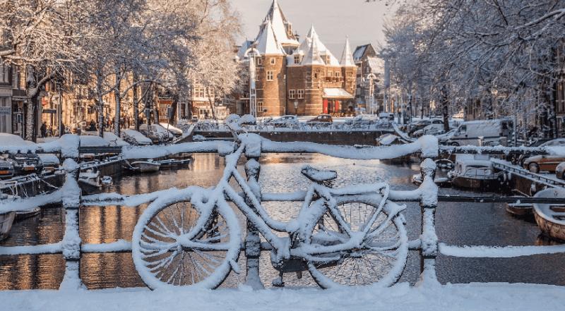 O que fazer no inverno em Amsterdã