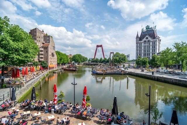 Onde ficar em Roterdã