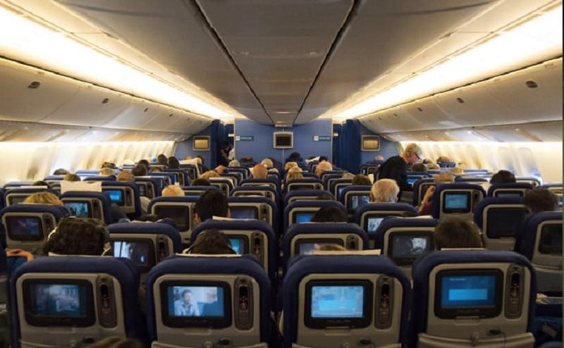 Interior do avião