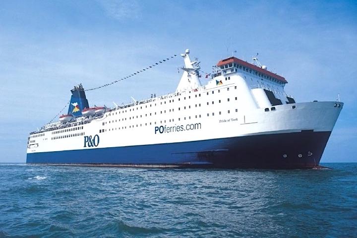 Ferry boat P&O Ferries na Holanda