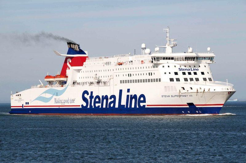Ferry boat Stena Line na Holanda